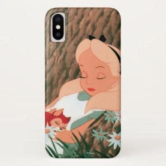 Alice in Wonderland Sleeping iPhone X Case