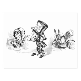 Alice in Wonderland Stickers and Postcards