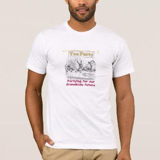 alice in wonderland Tea party  for grandpkids T-Shirt