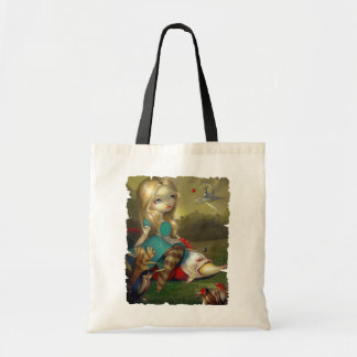 Alice in Wonderland & the Bosch Birds BAG gothic