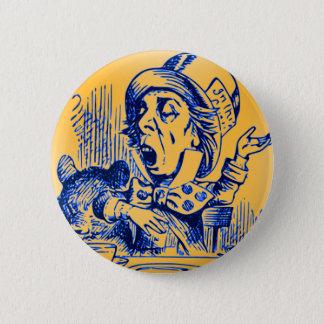 Alice in Wonderland - The Mad Hatter 2 Inch Round Button