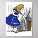 Alice in Wonderland - The Small Door Print