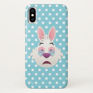 Alice In Wonderland  | The White Rabbit Emoji iPhone X Case