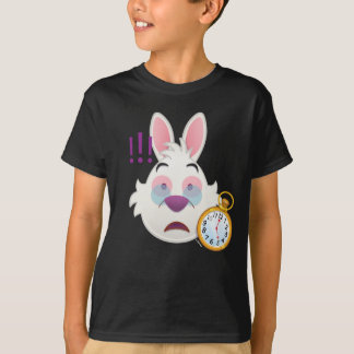Alice In Wonderland  | The White Rabbit Emoji T-Shirt