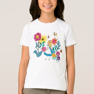 Alice in Wonderland | The Wonderland Flowers T-Shirt