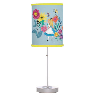 Alice in Wonderland | The Wonderland Flowers Table Lamp