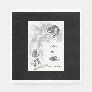 Alice in Wonderland Themed Party Paper Napkins