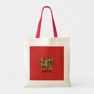 Alice In Wonderland Themed Tote