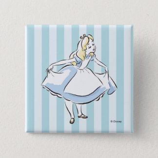 Alice in Wonderland | This Way to Wonderland 2 Inch Square Button
