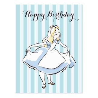 Alice in Wonderland | This Way to Wonderland Postcard