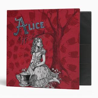 Alice in Wonderland - Tim Burton Vinyl Binder