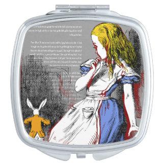 Alice in Wonderland Travel Mirror