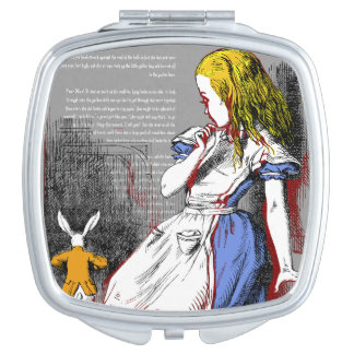 Alice in Wonderland Travel Mirrors