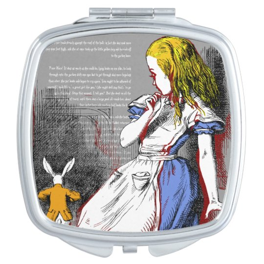 Alice in Wonderland Travel Mirrors