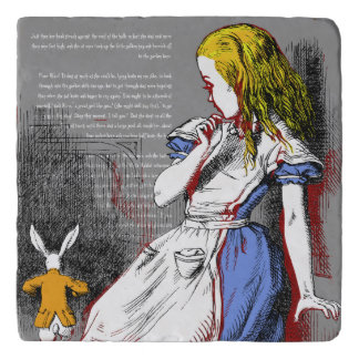 Alice in Wonderland Trivet