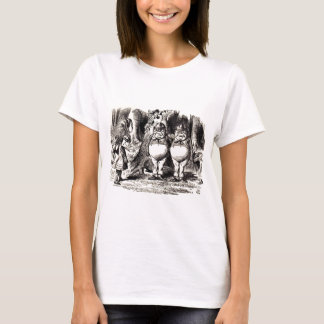 Alice in Wonderland: Twiddle Dee and Twiddle Dum T-Shirt
