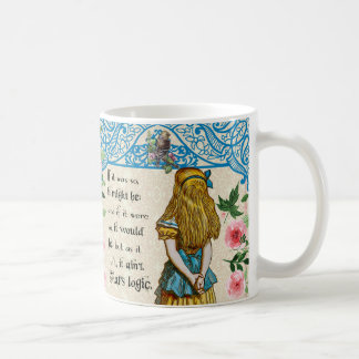 Alice In Wonderland Vintage Alice Quote Mug