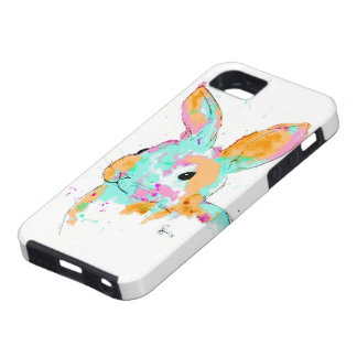 Alice in Wonderland water colour designs Case For The iPhone 5
