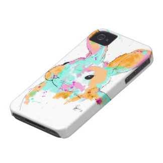 Alice in Wonderland water colour designs iPhone 4 Case-Mate Case