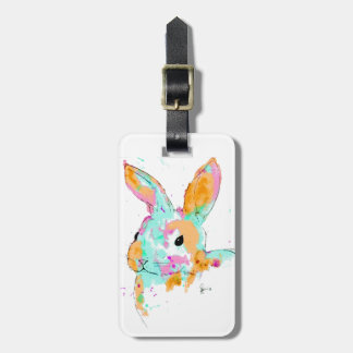 Alice in Wonderland water colour designs Luggage Tag