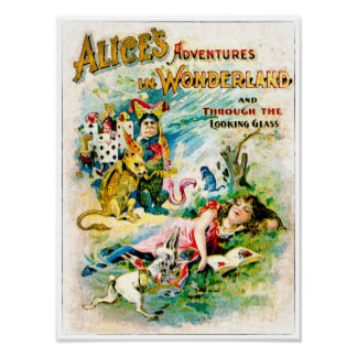 Alice In Wonderland - Watercolor Print