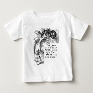 Alice in Wonderland - We're all mad here Baby T-Shirt