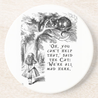 Alice in Wonderland - We're all mad here Coasters