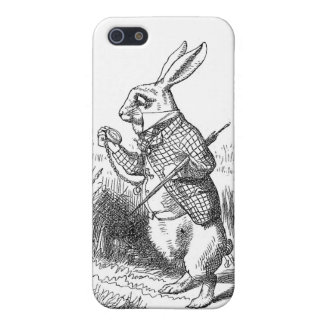 Alice In Wonderland White Rabbit Cover For iPhone 5/5S