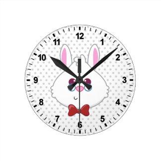 Alice in Wonderland | White Rabbit Emoji Clocks