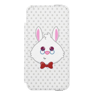Alice in Wonderland | White Rabbit Emoji Incipio Watson™ iPhone 5 Wallet Case