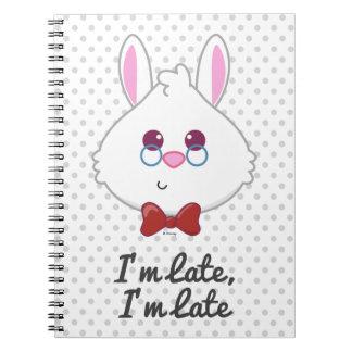 Alice in Wonderland | White Rabbit Emoji Notebooks