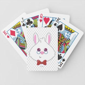 Alice in Wonderland   White Rabbit Emoji Poker Deck