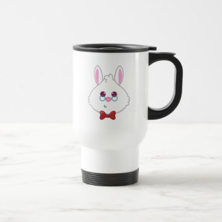 Alice in Wonderland | White Rabbit Emoji Travel Mug