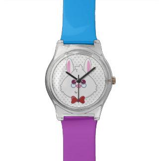 Alice in Wonderland | White Rabbit Emoji Wrist Watch