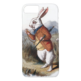 Alice in Wonderland White Rabbit iPhone 7 case