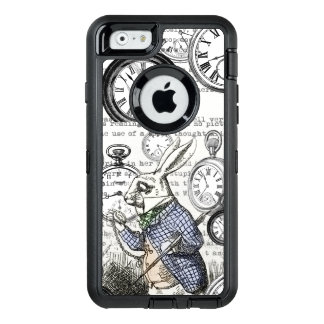 Alice in Wonderland White Rabbit Time OtterBox iPhone 6/6s Case