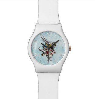 Alice in Wonderland White Rabbit Watch