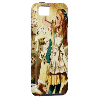 Alice in Wonderland with Playing Cards Case For The iPhone 5