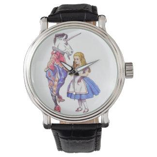 alice in wonderland wrist watch