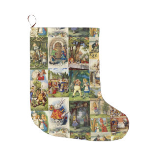 Alice in Wonderland Xmas Stocking