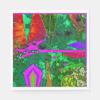 """""""Alice in Wonderland's Forest"""" Luncheon Napkin Paper Napkin"""
