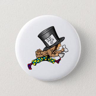 Alice in Wonderland's Mad Hatter 2 Inch Round Button