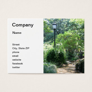 Alice Keck Park Memorial Gardens Business Card
