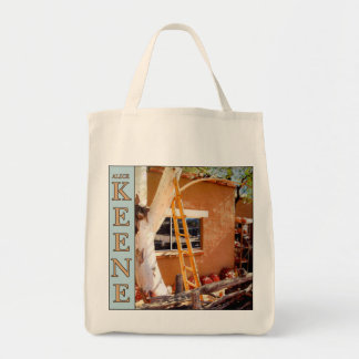 Alice Keene organic grocery tote bag