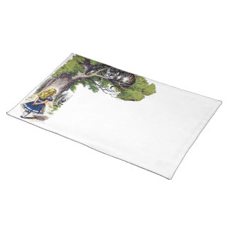 Alice Meets Cheshire Placemat