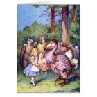 ALICE MEETS THE DODO BIRD CARD