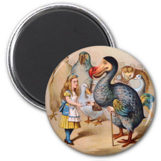 ALICE MEETS THE DODO BIRD MAGNET