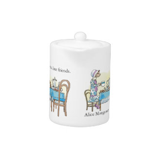 Alice Mongoose and Alistair Rat teapot