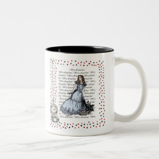 Alice mug in the country of the wonders