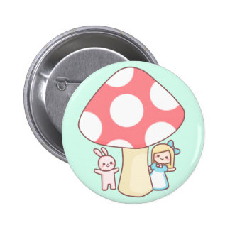 Alice Mushroom Button